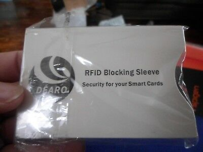 10 RFID Blocking Credit Card Passport Holder Case Cover Safety Sleeve Protector