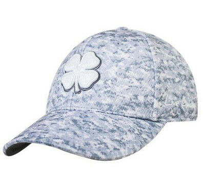 f1aea9a5090 NEW Black Clover Live Lucky BC Freedom 6 White Digital Camo Fitted L XL