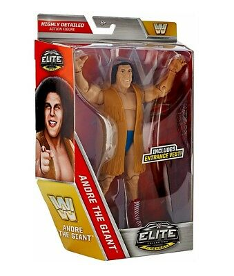 WWE Mattel Figur Elite Andre The Giant Exclusive Figur NEU&OVP Flashback