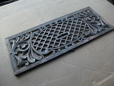Hints of Copper Cast/Bronze/Brass Fireplace Architectural Salvage 8 X 20 apprx