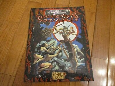 D&D D20 Sword & Sorcery Scarred Lands RPG Secrets & Societies