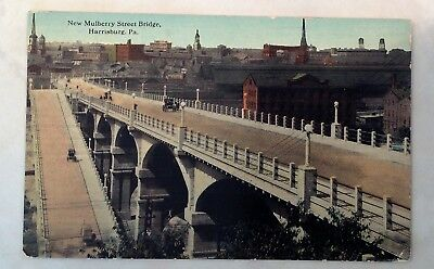Lot of 5 Vintage Postcards - Free Shipping - New York - PA -  1910's - 1920's