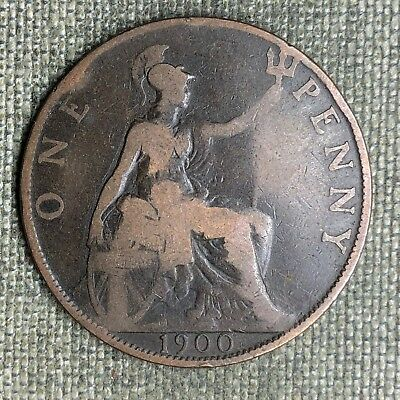 Great Britain Penny, 1900 - 02636