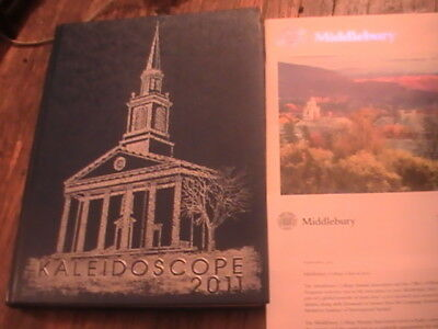 2011 Middlebury College Vermont Kaleidoscope Yearbook Commencement Booklet