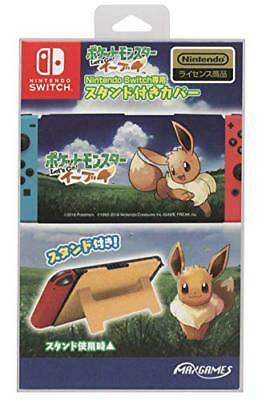 Nintendo Switch Stand with cover Pocket monster Lets Go! Evee