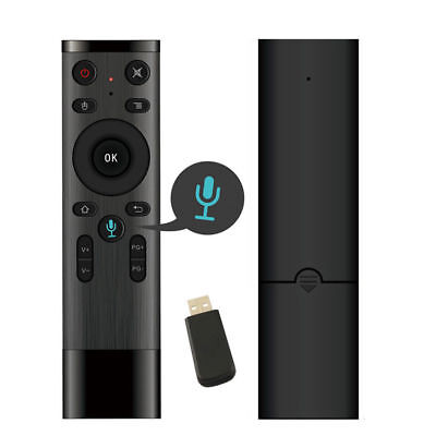 X10 Air Mouse Wireless Remote Control 2.4GHz Voice for TV Android Box PC E5Z0S