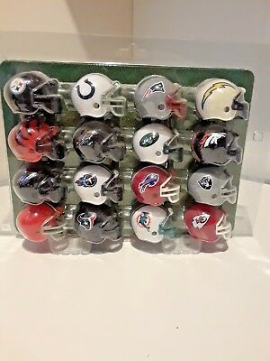 Mini Nfl Football Helmets Collectible Complete Set Of All 32 Teams
