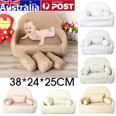 Newborn Baby Shooting Photography Photo Props Baby Posing Seat Chair w/ Pillow