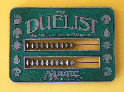 Magic: The Gathering Reaper Miniatures Duelist Abacus Green Life Counter 1995