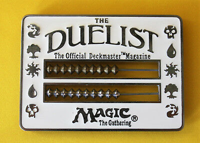 Magic: The Gathering MTG Duelist Abacus White Life Counter WOTC 1996