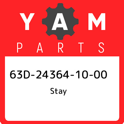 63D-24364-10-00 Yamaha Stay 63D243641000, New Genuine OEM Part