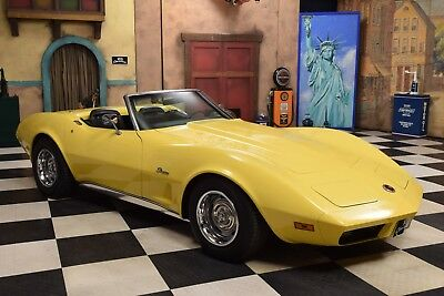 1974 Chevrolet Corvette C3 Convertible Matching Numbers