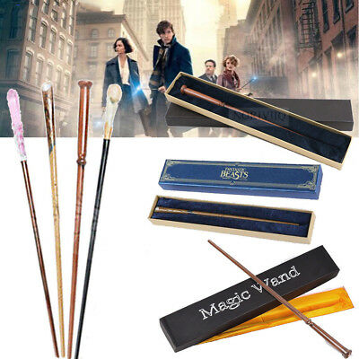 HARRY POTTER WAND WITH Ollivanders IN BOX Baguette Props Collection Replica Gift