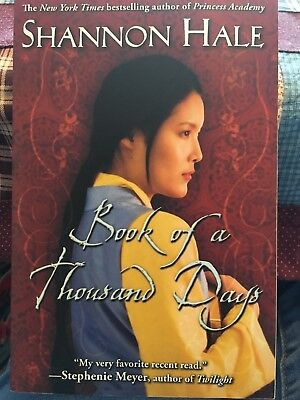 Book Of A Thousand Days by Shannon Hale (2009, Paperback)