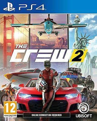 Sony PlayStation 4 The Crew 2 PS4 Brand New Sealed Official