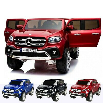 Kids Licensed Mercedes X Class Pickup - 24v 4WD Electric / Battery Ride on Car