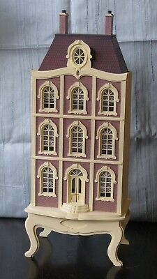 Fully Finished Quarter-Scale French Townhouse 1:48 Dolls House Artisan Miniature