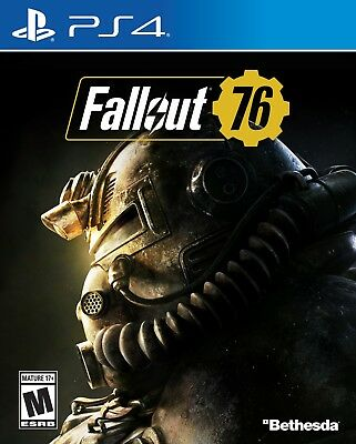 Fallout 76 (PlayStation 4 PS4) Brand New Factory Sealed
