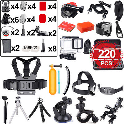 Accessories Pack Case Chest Head Floating Monopod For GoPro Go pro Hero 7 6 5