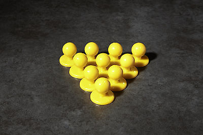 Yellow chef buttons jacket brand new set of 10 cheap buy it now