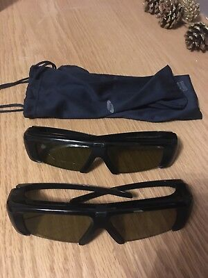 87029434d GENUINE SAMSUNG SSG-2100AB ACTIVE 3D GLASSES (FOR 3D TV's) - £26.00 ...