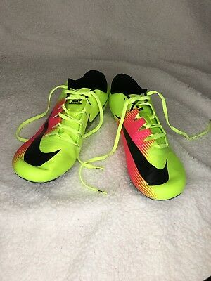 7c3118eac6c1 New Nike Zoom JA Fly 3 Mens Track   Field Spikes Sprint Racing Running Shoes