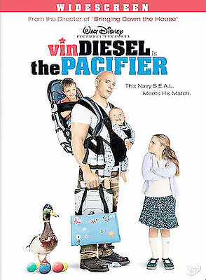 The Pacifier (DVD Movie) Vin Diesel Widescreen NEW Sealed