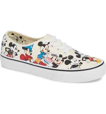 VANS X DISNEY Authentic Birthday Mickey Mouse Mens and Kids