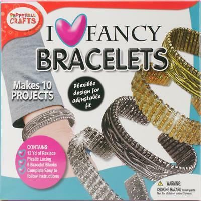 Make Your Own Fancy Bracelets Craft Kit for Kids - For ages 8 and up