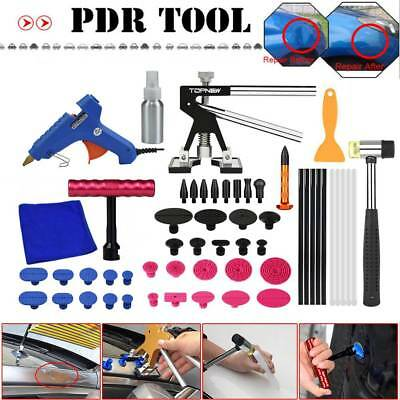 Paintless Dent Puller Lifter Hammer Hail Removal Glue Gun Repair PDR Tools Kit