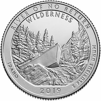 "2019 ""S"" ATB Frank Church Wilderness, Clad Quarter, Proof, Single Coin"