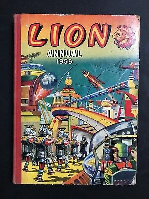 Lion Annual 1955 Space Robot Theme Cover