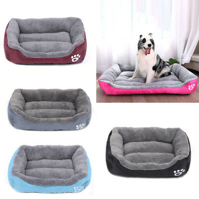 Pet Dog Cat Bed Puppy Cushion House Soft Warm Kennel Mat Blanket Washable S-XL