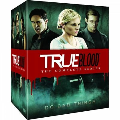 True Blood The Complete Series Seasons 1-7 DVD Disc Box Set New Sealed