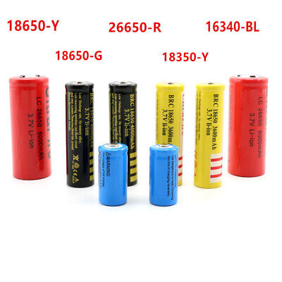 Original 3.7V BRC Rechargeable Li-ion Battery 18650/18350/26650/16340 UK BBT