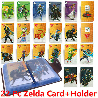 New 22 Pcs Full Set NFC PVC Tag Card ZELDA BREATH OF THE WILD WOLF LINK Gifts