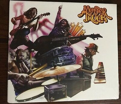 Monster Truck - True Rockers [CD] W/ Limited Autographed Booklet