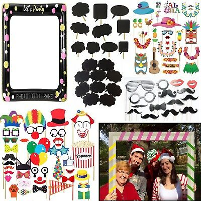 Photo Booth Props Frame Birthday Home Office Party Photography Selfie Fun Kit