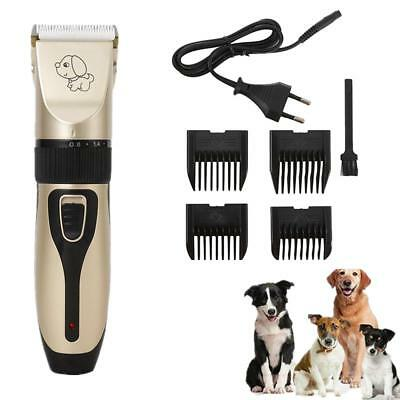 Professional Cat Dog Hair Trimmer Electrical Pet Clipper Cutter Grooming Machine