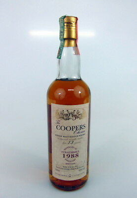 Whisky Strathmill Aged 13 Years Distilled 1988 Coopers Choice