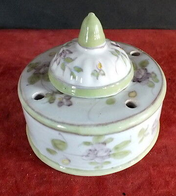encrier faience Martre Tolosane Moustiers inkwell