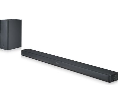 Lg Sk6 2.1 Wireless 360W 4K Cinematic Sound Bar Subwoofer Bluetooth