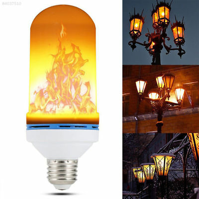 4 Models LED Flame Effect Animated Flickering Fire Light Bulbs Decorative Lamp ~