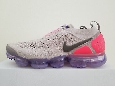 Nike Air VaporMAx FK MOC 2 Moon PArticle Solar Red AH7006-201 Size 9.5