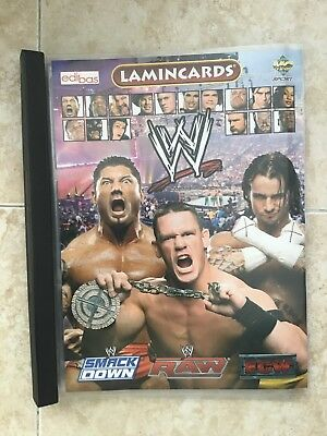 Lamincards 2007 Wrestling Album wRAW ECW WWE +130 Cards