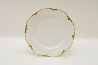 Haviland Limoges France Ranson Gold Blank 1 Luncheon Plate Plates 8 5/8 Inch