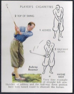 Players-Golf (Uk Issue L25)-#04- Mashie Shot - Aubrey Boomer