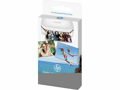 HP Zink 2x3 Sticky-Backed Glossy Photo Paper - 50 sheets