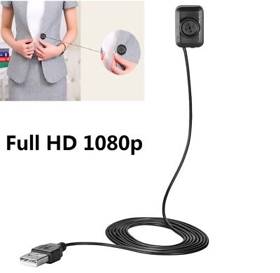 Spia Telecamera Micro Spy Camera Full HD 1080P Mini Pulsante Cam Detection Video