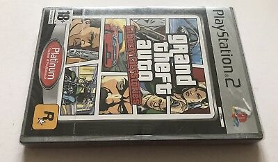 GTA Grand Theft Auto Liberty City Stories Playstation 2 PS2 Brand New Sealed PA